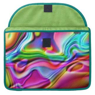 Rainbow Amoeba MacBook Pro Sleeve