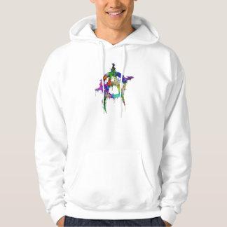 Rainbow Anarchy Symbol Hoodie