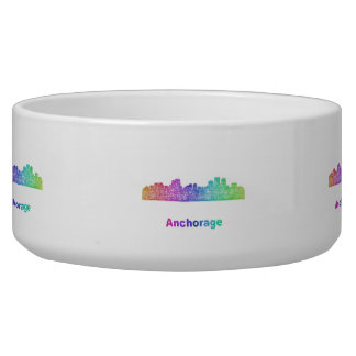Rainbow Anchorage skyline Bowl