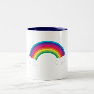 Rainbow and Clouds Mug