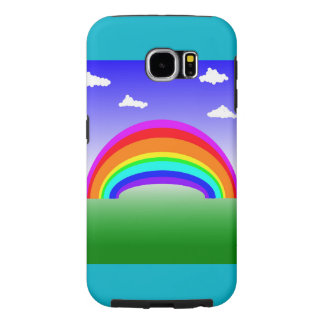 Rainbow and Clouds Phone Case