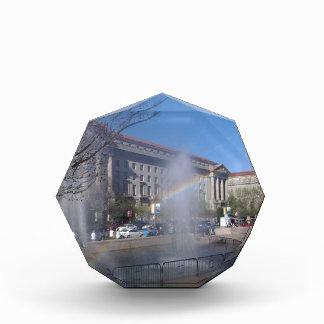 Rainbow and Fountain in Washington, D.C. Award