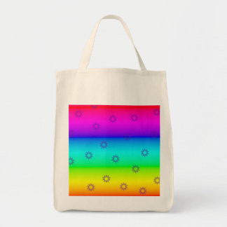 Rainbow and Sprockets Reusable Grocery Bag