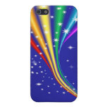 Rainbow and Stars Case For iPhone 5