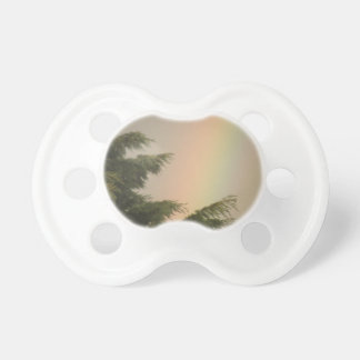 Rainbow and Trees Pacifier