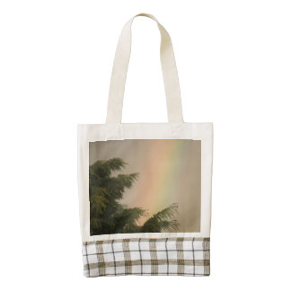 Rainbow and Trees Tote