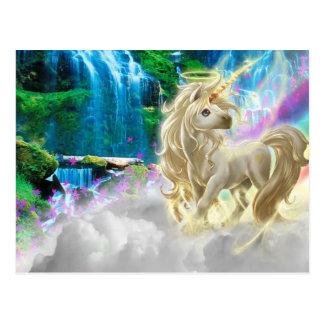 Rainbow And Unicorn Post Cards