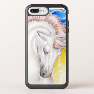 Rainbow Andalusian Horse Speck iPhone Case