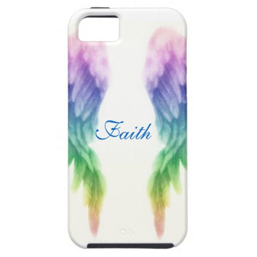 Rainbow Angel Wings iPhone 5 Cover