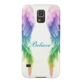 Rainbow Angel Wings Galaxy S5 Case