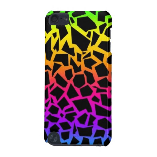 Rainbow animal print itouch case iPod touch (5th generation) cover