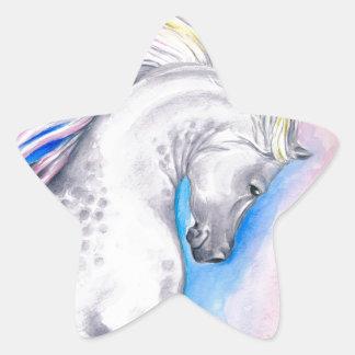 Rainbow Arabian Star Sticker