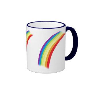 Rainbow Arc Ringer Coffee Mug