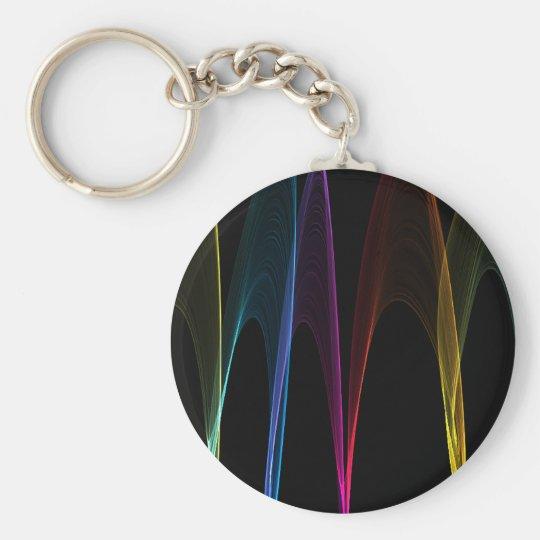 Rainbow Arches Keychain