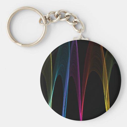 Rainbow Arches Keychains