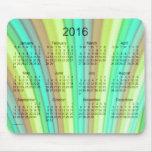 Rainbow Art 2016 Calendar Mouse Pad