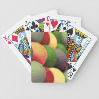 Rainbow Art Bicycle Playing Cards