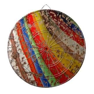 Rainbow Art Glass Dart Boards