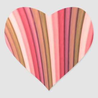 Rainbow Art Heart Stickers