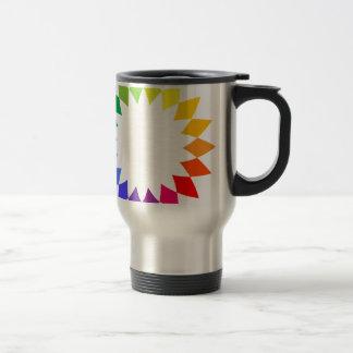 Rainbow Art Travel Mug
