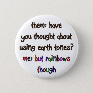 Rainbow Artist Button