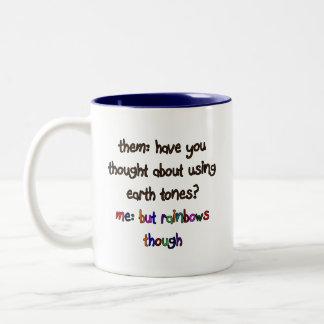 Rainbow Artist Mug