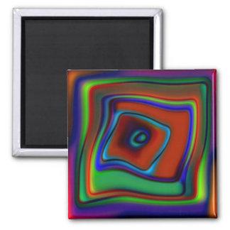 Rainbow Askew Magnet