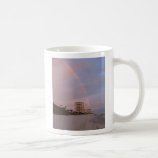 Rainbow at Daytona Beach Coffee Mug