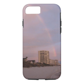 Rainbow at Daytona Beach Florida iPhone 7 Case