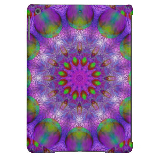 Rainbow at Dusk, Modern Abstract Star of Light Case For iPad Air