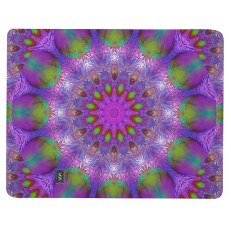 Rainbow at Dusk, Modern Abstract Star of Light Journal