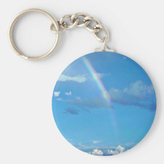 Rainbow At El Morro National Monument Key Chain