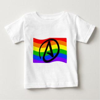 Rainbow Atheist Flag Tee Shirt