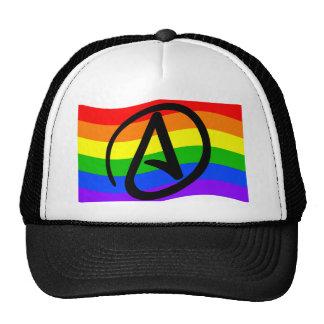 Rainbow Atheist Flag Trucker Hat