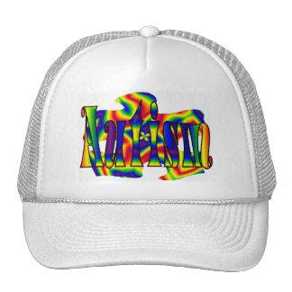 Rainbow Autism Puzzle Hats