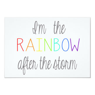 Rainbow Baby Card *Personalize*