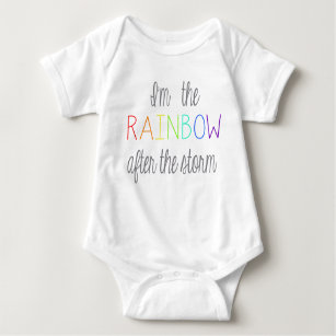 8ff6396a8 Rainbow Baby Outfit Baby Bodysuit