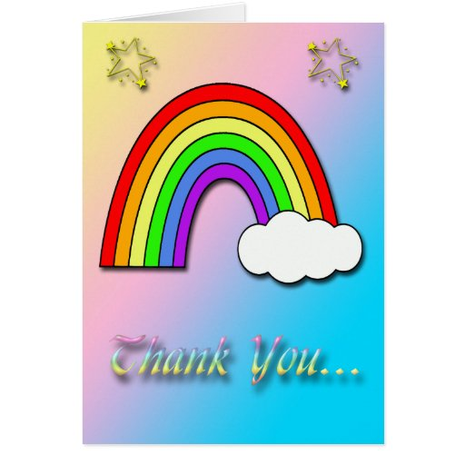 Rainbow thank you quotes quotesgram