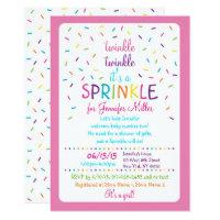 Rainbow Baby Sprinkle Card