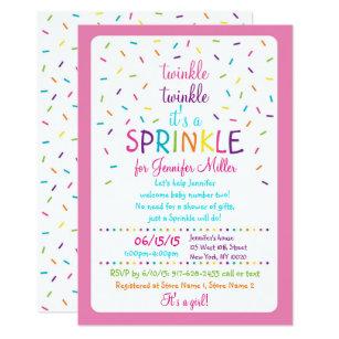 Baby Sprinkle Invitations Zazzle