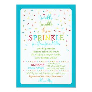 Rainbow Baby Sprinkle Invitations
