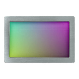 Rainbow Background Plain Belt Buckle