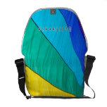 Rainbow bag messenger bag