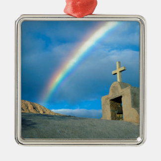 Rainbow Bahia De Los Angeles Mexico Metal Ornament