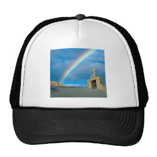 Rainbow Bahia De Los Angeles Mexico Trucker Hat