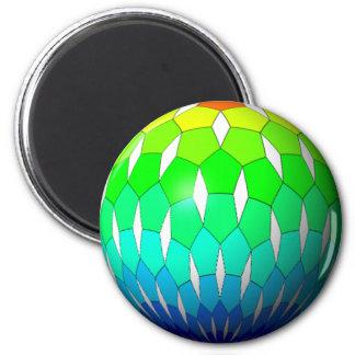 rainbow ball magnet
