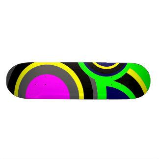 Rainbow Balls Skateboard Deck