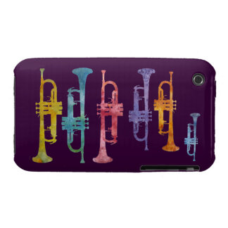 Rainbow Band of Trumpets iPhone 3 Covers