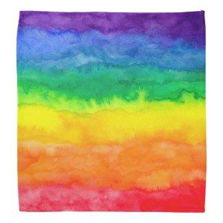 Rainbow Bandana Bandannas