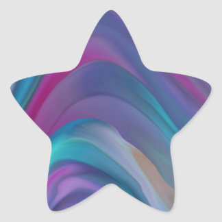 Rainbow Bands product line Star Sticker